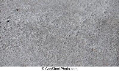 dried sea salt - sea salt crystals is similar to sand camera...