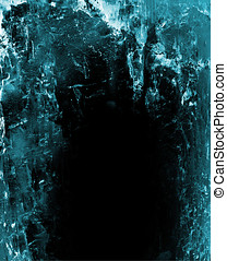 grotto  - icy grotto
