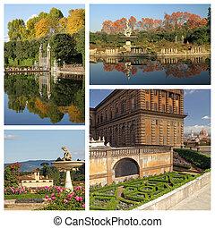 wonderful Boboli Gardens in Florence, Italy