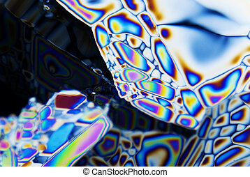 Microcrystals in polarized Light