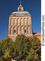 Curch in Ribnitz-Damgarten in Germany