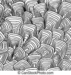 abstract, vector, seamless, background of lines and...