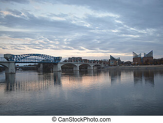 The Scenic City - A Beautiful evening on the Tennessee River...