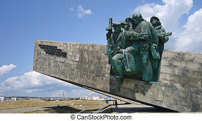 monument to soldiers - Monument to soldiers to liberators...