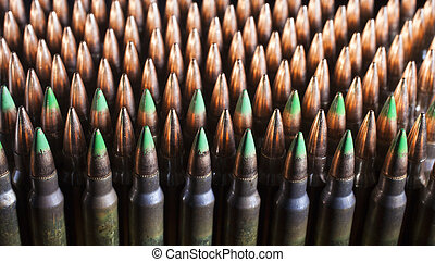 Armor piercing ammunition - Cartridges with bullets that...