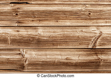 wooden wall - a wooden wall of old boards built. concept...