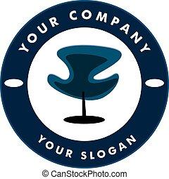 Hair Solon Logo Chair