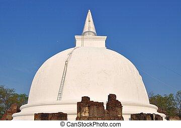Kiri Vihara Buddhist Stupa, Polonnaruwa, Sri Lanka