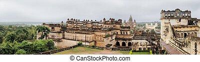 Jahangir Mahal maharaja palace, Orchha, India - Jahangir...