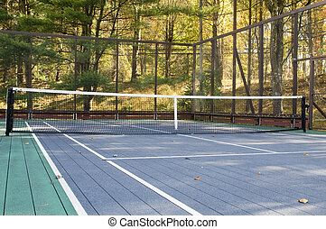 platform tennis paddle court - platform tennis paddle game...