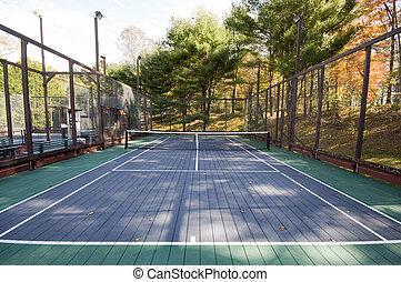 platform tennis paddle court - platform tennis paddle game...