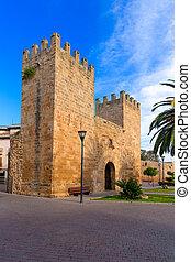 Alcudia Old Town Majorca Porta des Moll Mallorca - Alcudia...