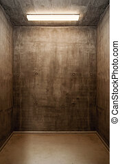 Grunge room - Empty grunge industial room background...