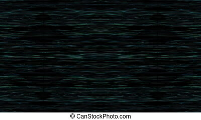 horizontal lines - blue and green horizontal lines flicker...
