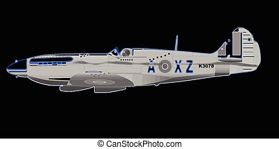 Spitfire - A spitfire world was two fighter aircraft with...