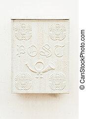 Antique letter box
