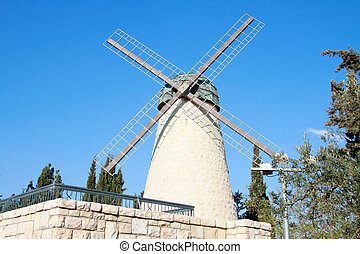 Flour mill to wind
