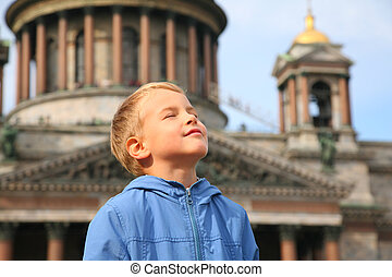 Boy in St.Petersburg
