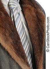 mink neckpiece