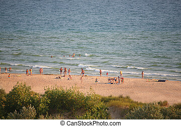 浜, 人々