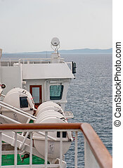 Ferryboat - Photo of ferryboat on the Adriatic Sea in...