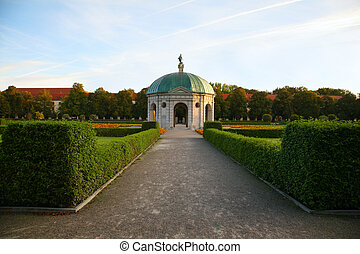 Park. Munich. Germany.