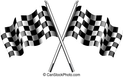 Checkered Flag - Chequered Flags Motor Racing