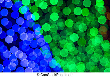 rainbow bokeh - Beautiful rainbow bokeh abstract background...