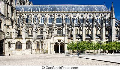 Cathedral Saint-iuml;iquest;frac12;tienne, Bourges, Centre,...