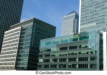 Canary Wharf Offices skyscrapers