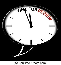 Bubble Clock quot;Time for reviewquot; - Bubble Clock Time...