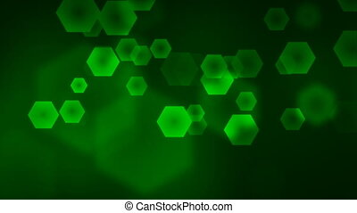 Green Abstract Background - Abstract motion background Loops...