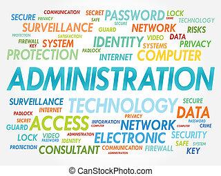 administração,