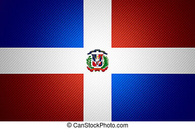 flag of Dominican Republic - Dominican Republic flag or...