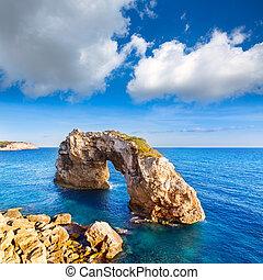 Majorca Es Pontas in Santanyi at Mallorca Balearic island of...