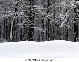 snow - winter background with snow texture close up