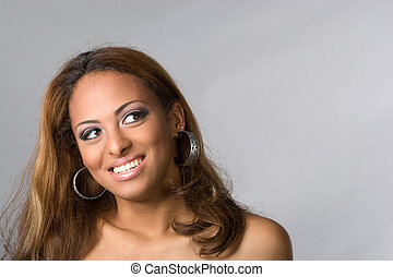 Happy Smiling Woman