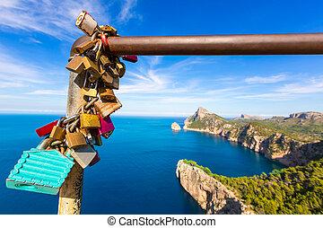 Majorca mirador Formentor Cape Mallorca island - Majorca...