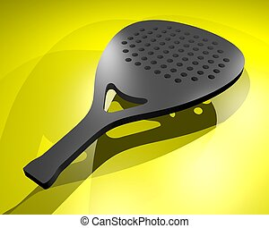 Padel render - Creative design of Padel render