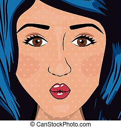 Pop art design, vector illustration