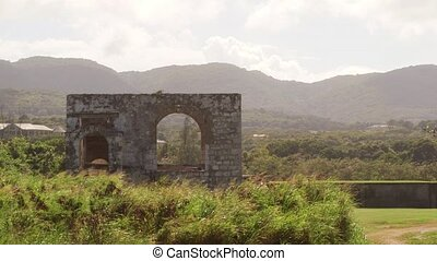 Old ancient architectural ruins - Historical ruins of...