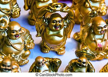 Bouddha, rire