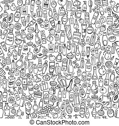 doodle cosmetic products for personal care