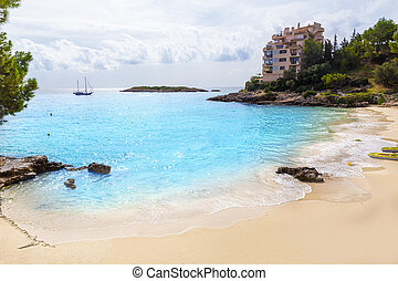 Majorca Playa de Illetas beach Mallorca Calvia - Majorca...