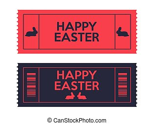 admit one Easter tickets