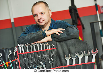 auto mechanic repairman - repairman auto mechanic portrait...
