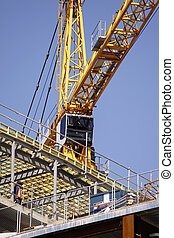 Lift Crane for Container Handling, Cargo, Construction and...