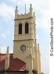 Christ Church in the city of Shimla