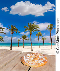 Majorca sArenal arenal beach Platja de Palma Llucmajor in...