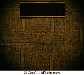 dark gold Background of textile texture Close up